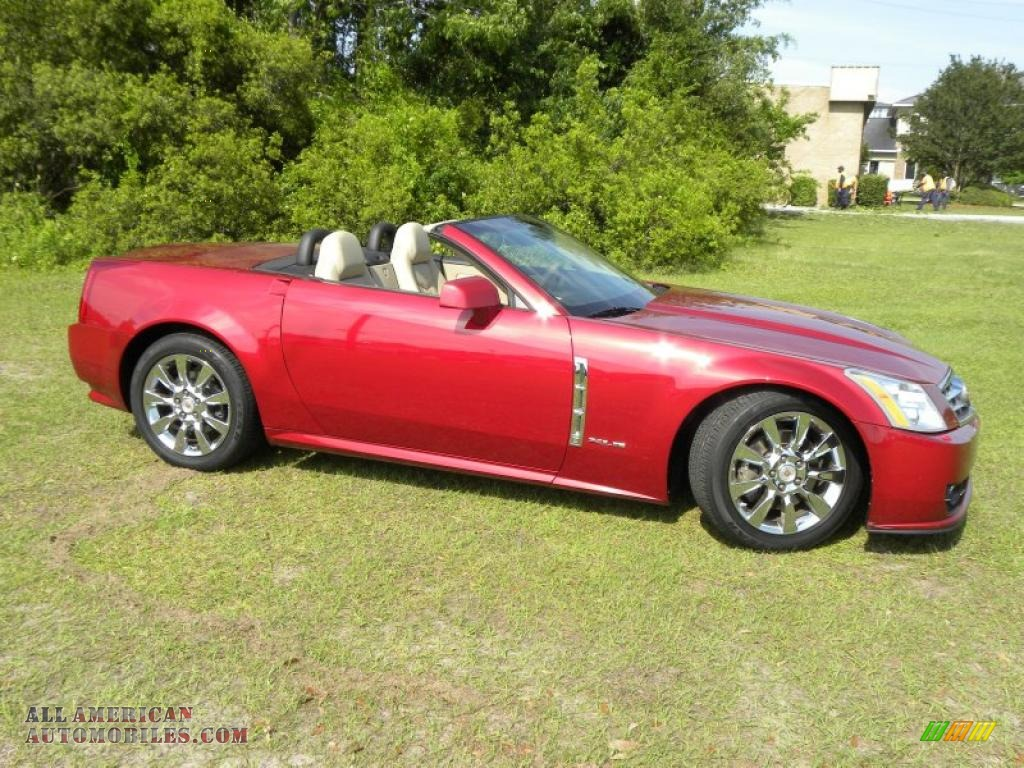 2009 cadillac xlr platinum roadster in crystal red photo 25 600837 all american automobiles. Black Bedroom Furniture Sets. Home Design Ideas