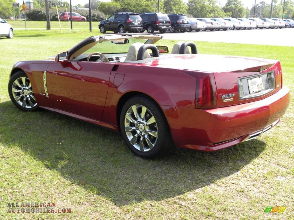 2009 cadillac xlr platinum roadster in crystal red photo 26 600837 all american automobiles. Black Bedroom Furniture Sets. Home Design Ideas