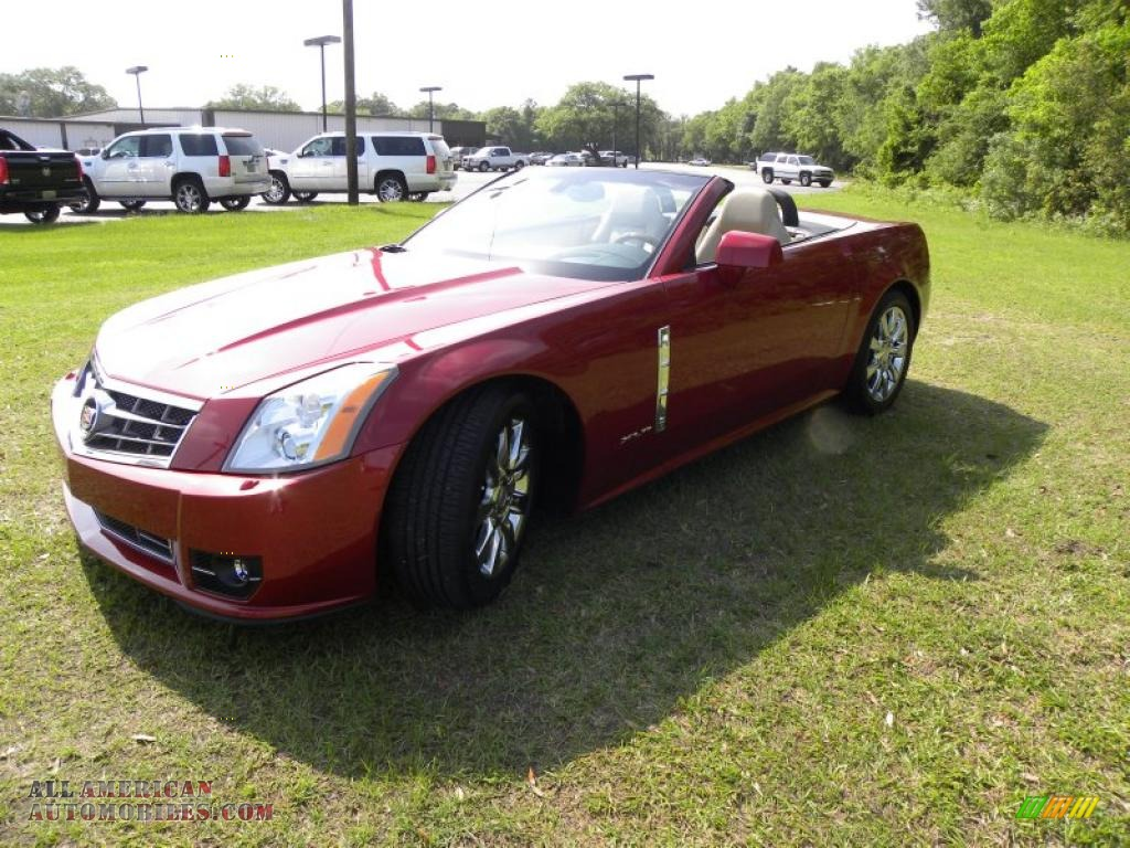 2009 cadillac xlr platinum roadster in crystal red photo 27 600837 all american automobiles. Black Bedroom Furniture Sets. Home Design Ideas