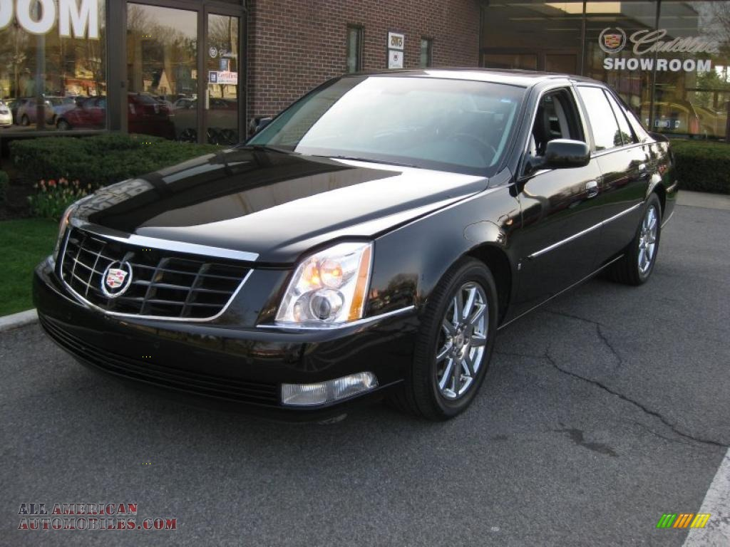 2008 Cadillac Dts In Black Raven 180798 All American