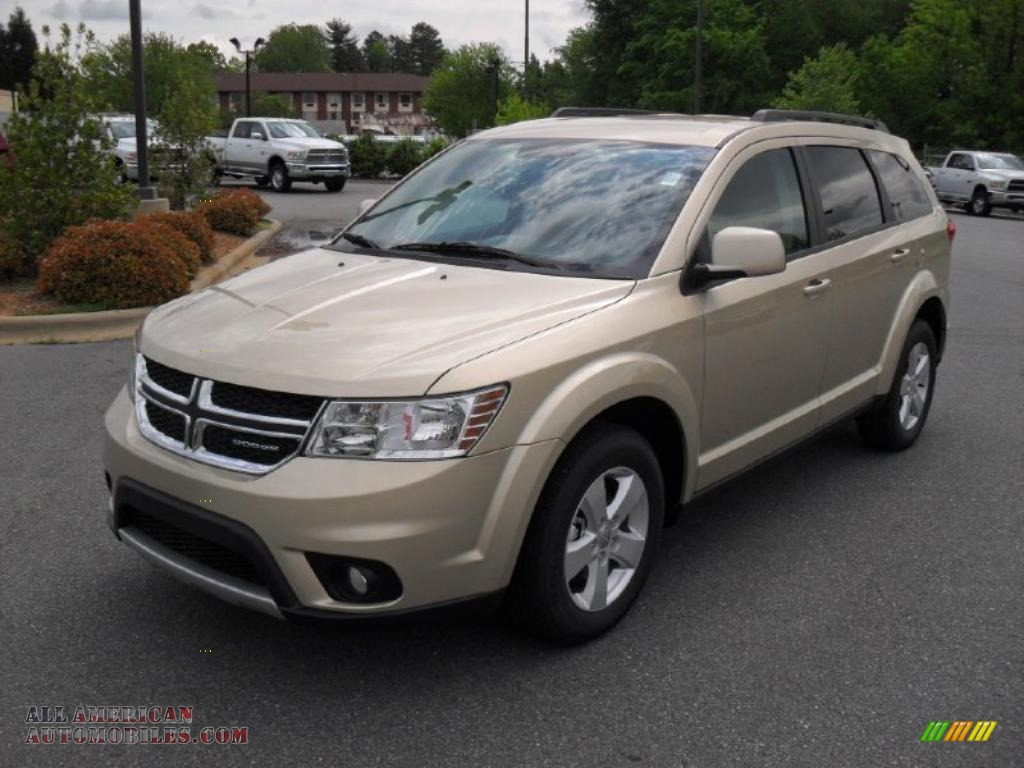 2011 dodge journey mainstreet awd in white gold metallic for Steve white motors inc