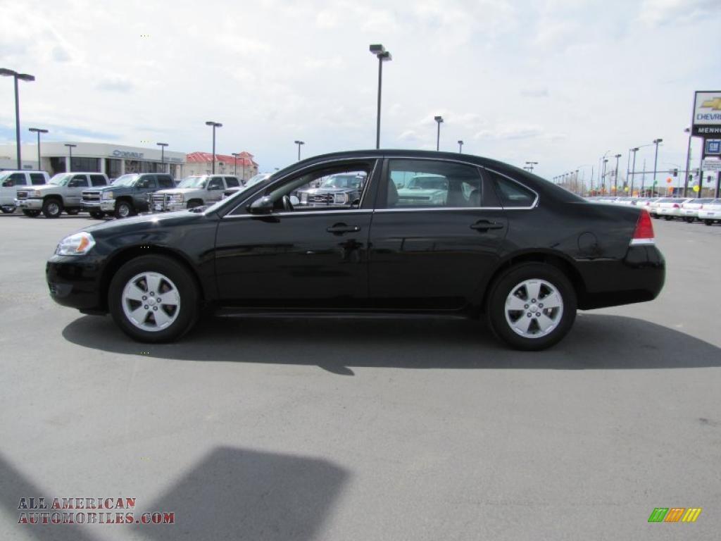 2010 Chevrolet Impala Lt In Black 164322 All American