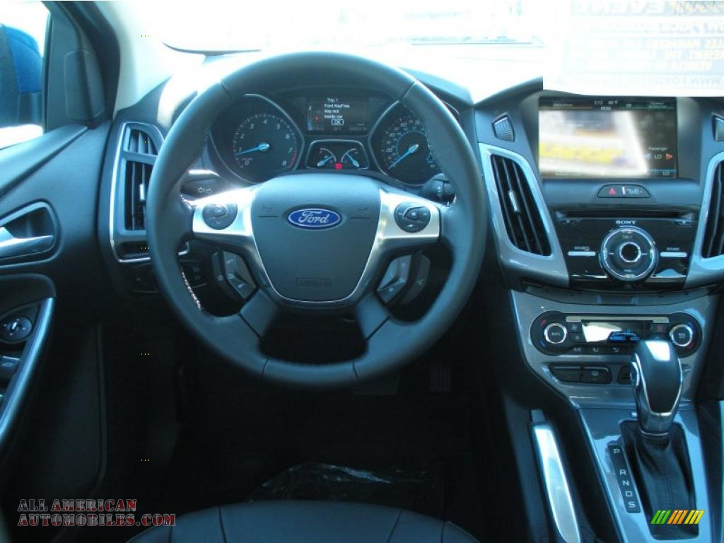 2012 Ford Focus Titanium Sedan In Blue Candy Metallic Photo 7 134420 All American Automobiles Buy American Cars For Sale In America
