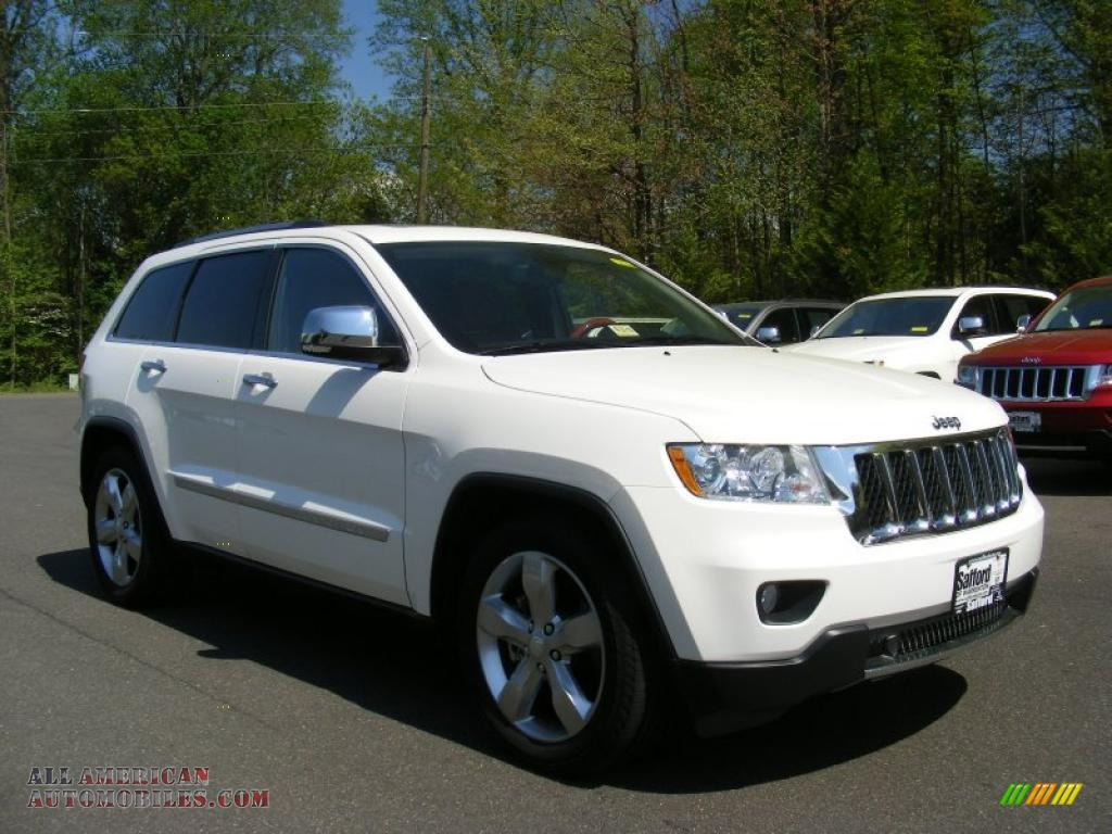 2011 jeep grand cherokee overland 4x4 in stone white photo 2 600070 all american. Black Bedroom Furniture Sets. Home Design Ideas