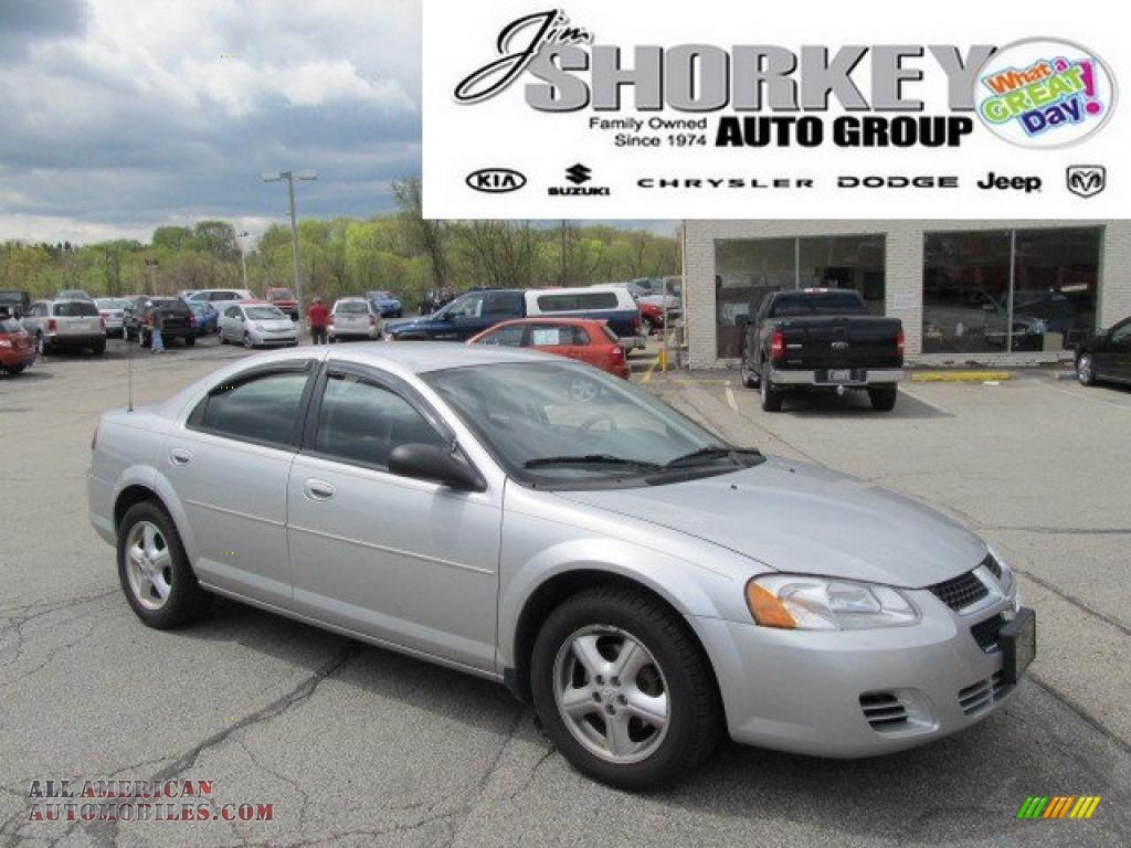 2006 dodge stratus sxt sedan in bright silver metallic for Steve white motors inc