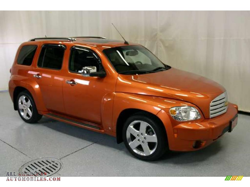 2008 Chevrolet Hhr Lt In Sunburst Orange Ii Metallic Photo