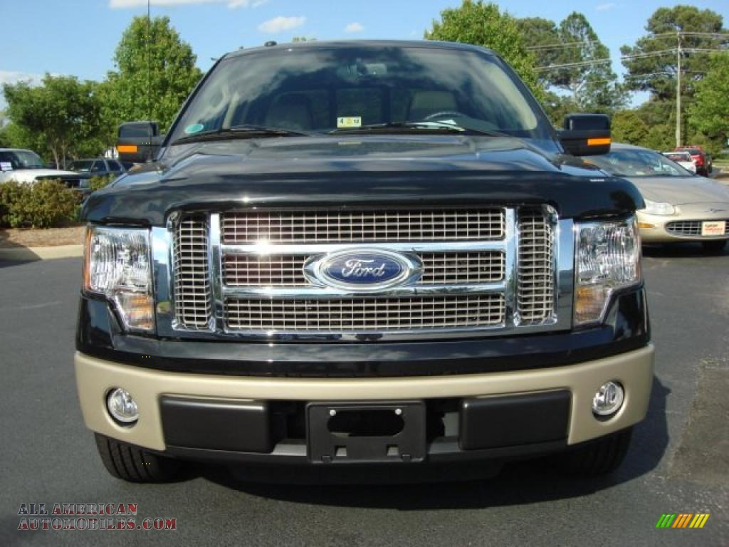2010 ford f150 lariat supercrew in tuxedo black photo 8 Tysinger motor company