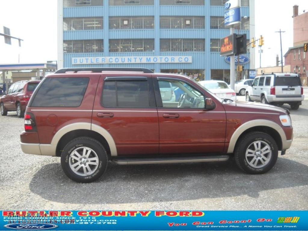 2009 ford explorer eddie bauer 4x4 in dark copper metallic a16027 all american automobiles. Black Bedroom Furniture Sets. Home Design Ideas