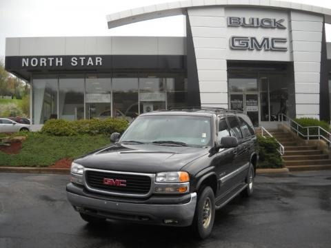 Gmc Yukon 2500 Xl. Onyx Black GMC Yukon XL 2500