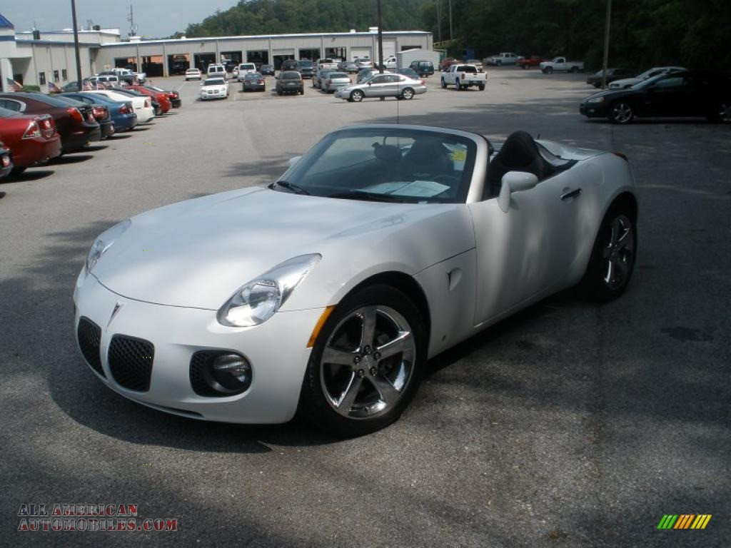 2007 Pontiac Solstice Gxp Roadster In Pure White Photo 8 138906 All American Automobiles
