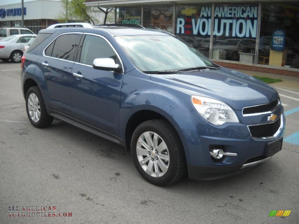 2011 Chevrolet Equinox Lt Awd In Twilight Blue Metallic