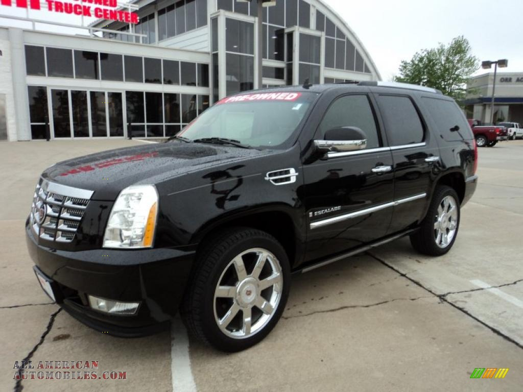2009 cadillac escalade in black raven 162806 all american automobiles buy american cars. Black Bedroom Furniture Sets. Home Design Ideas