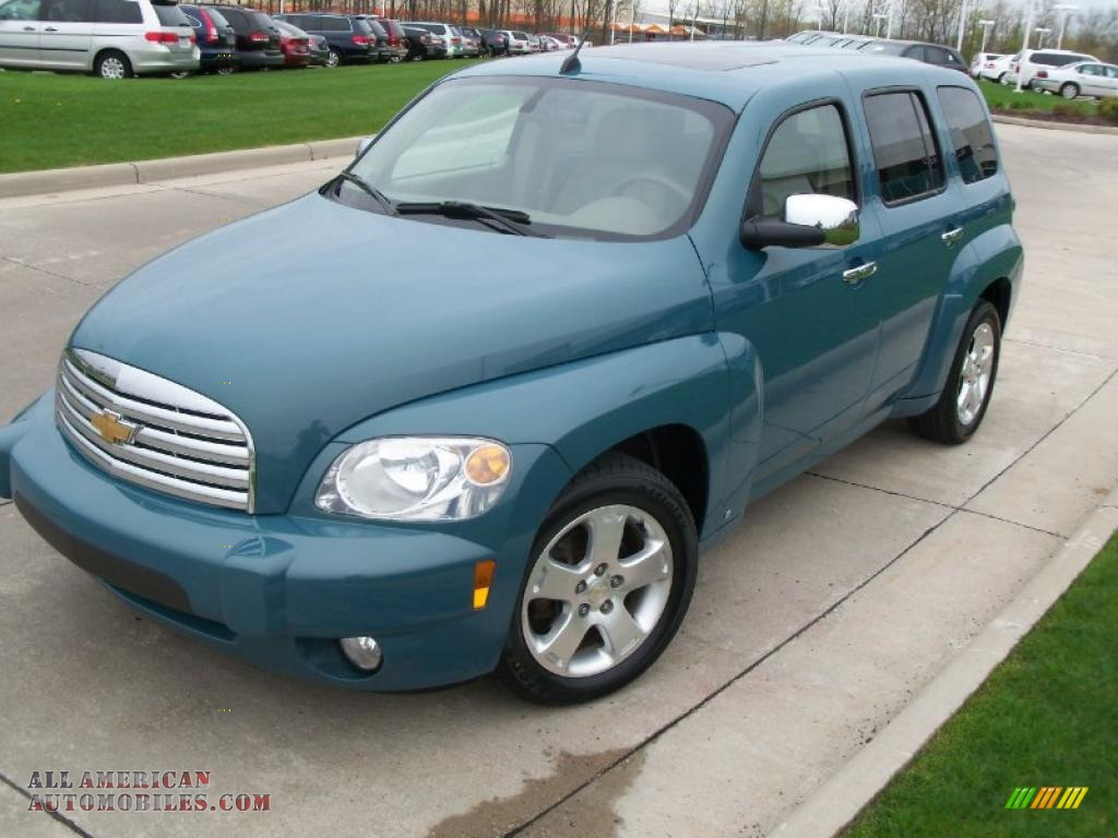 2007 Chevrolet Hhr Lt In Golden Teal Metallic 541451