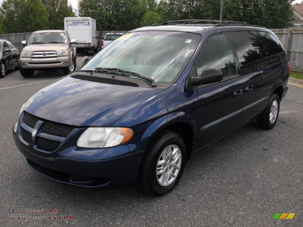 2002 dodge grand caravan el in patriot blue pearl 616278. Black Bedroom Furniture Sets. Home Design Ideas