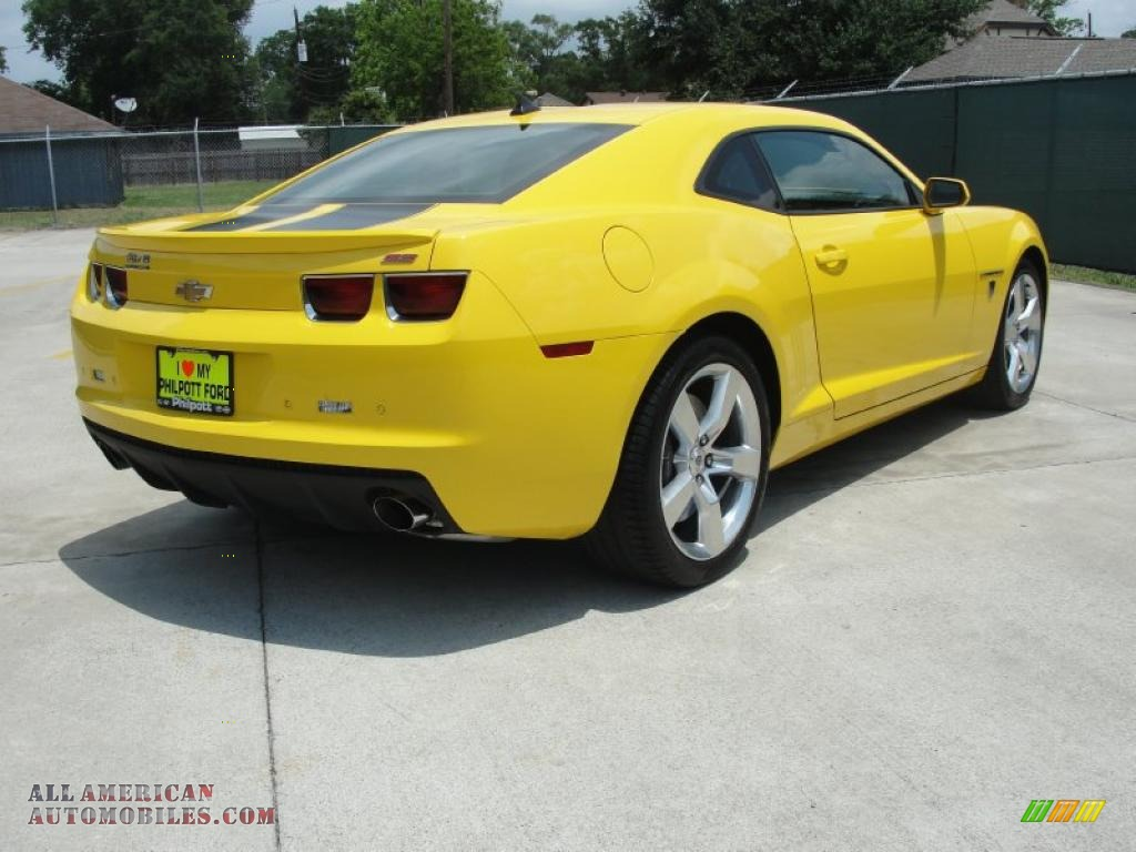 2010 chevrolet camaro ss coupe transformers special edition in rally yellow photo 3 183978. Black Bedroom Furniture Sets. Home Design Ideas
