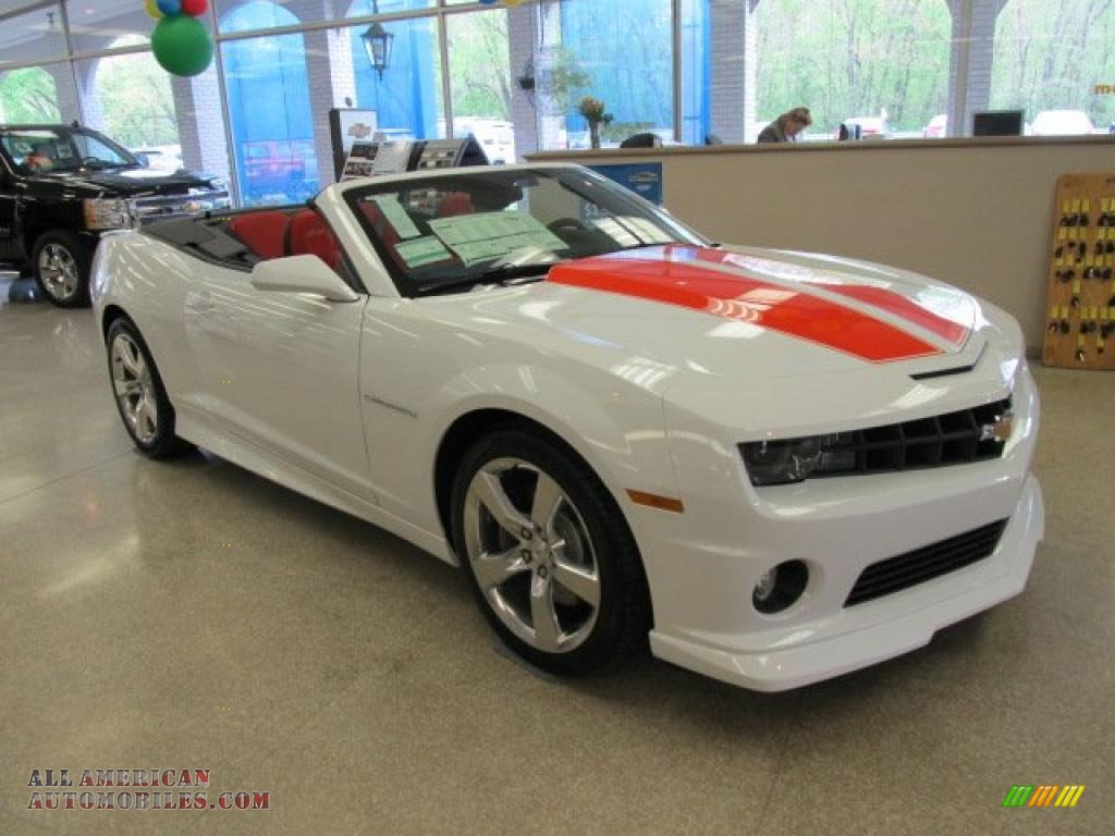 2011 chevrolet camaro ss rs convertible in summit white photo 3 182158 all american. Black Bedroom Furniture Sets. Home Design Ideas