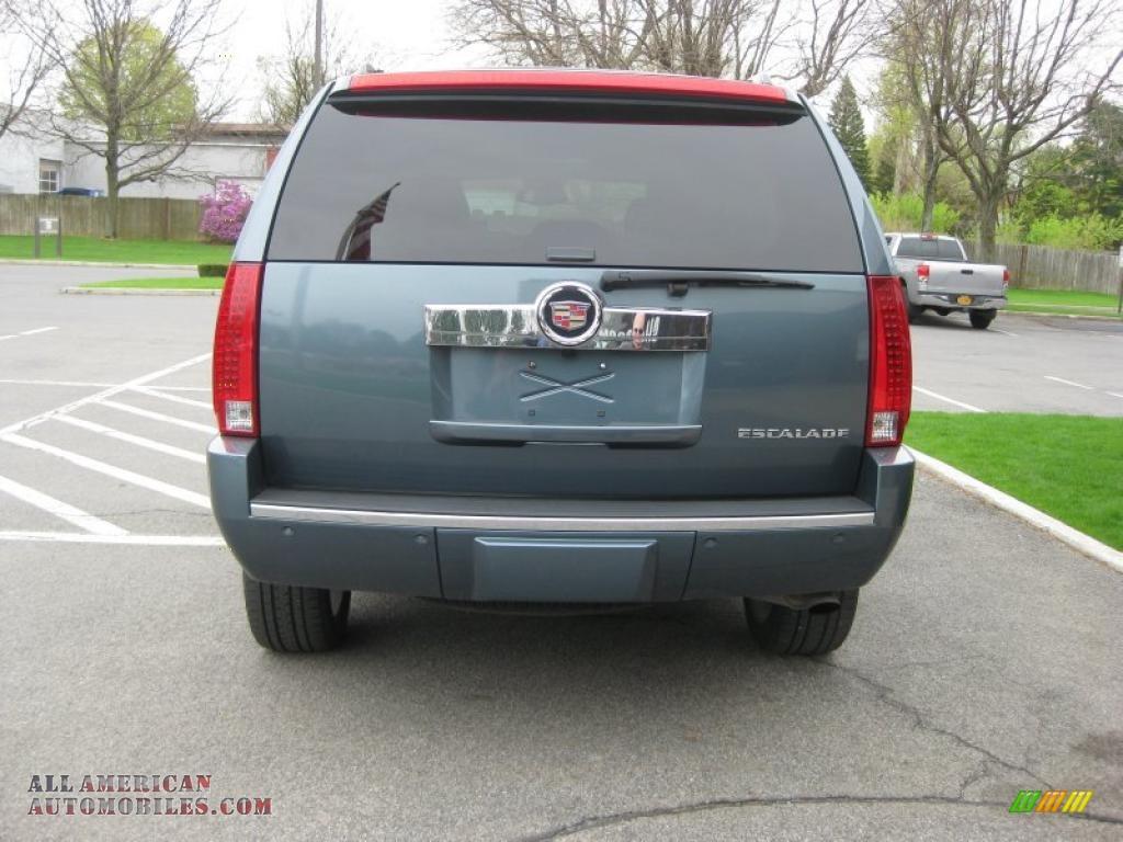 2008 Cadillac Escalade Awd In Stealth Gray Photo 4