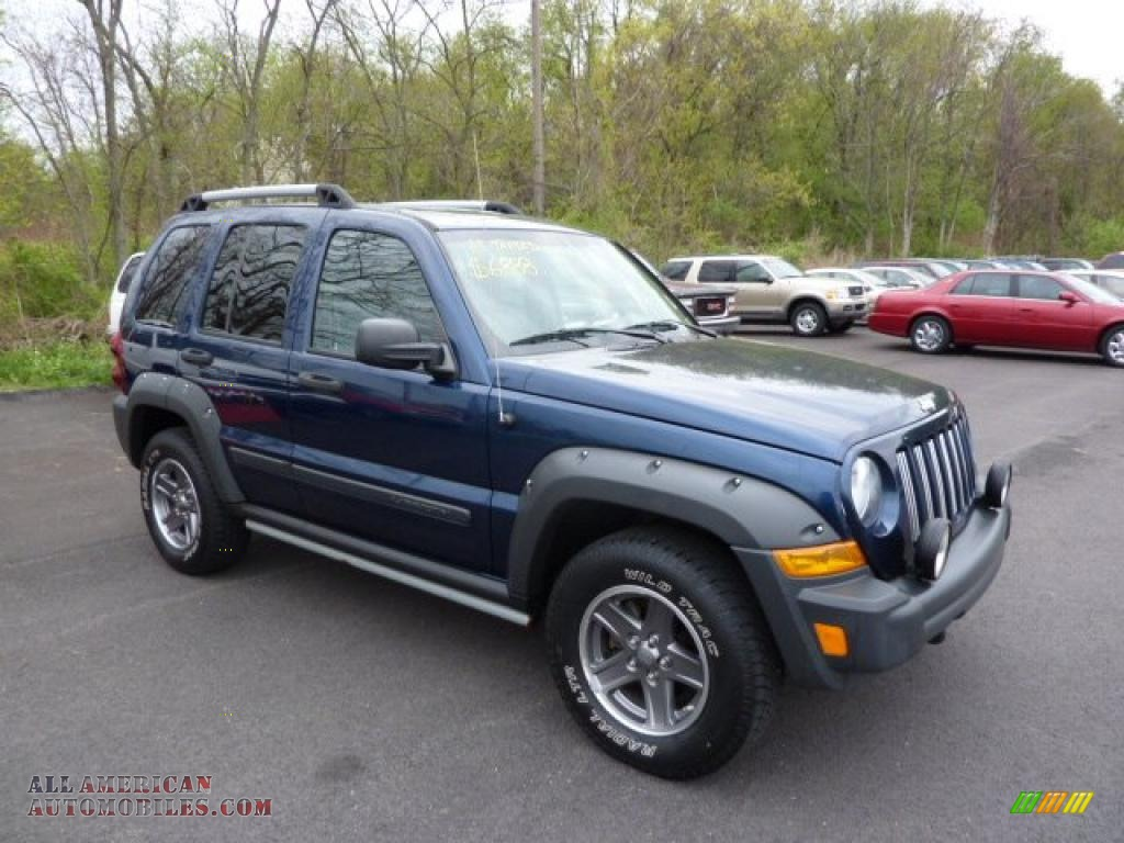 2005 Jeep Liberty Renegade 4x4 In Patriot Blue Pearl