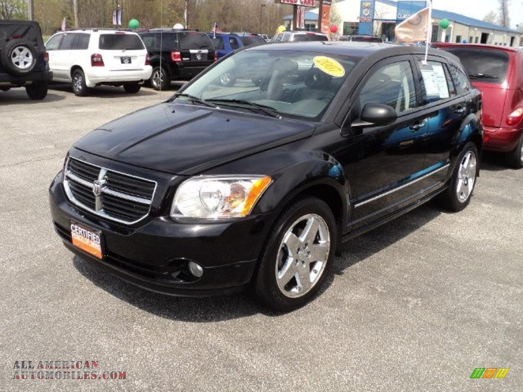 2007 dodge caliber r t awd in black 131428 all. Black Bedroom Furniture Sets. Home Design Ideas