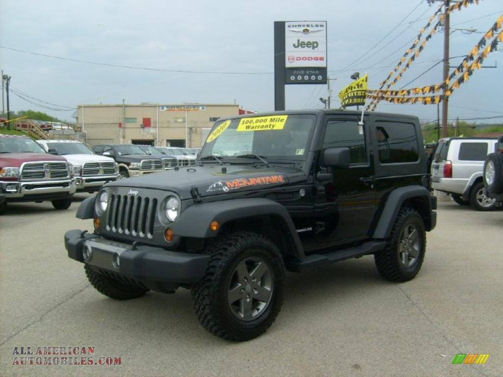 Ron Lewis Jeep >> 2010 Jeep Wrangler Sport Mountain Edition 4x4 in Black - 227016 | All American Automobiles - Buy ...