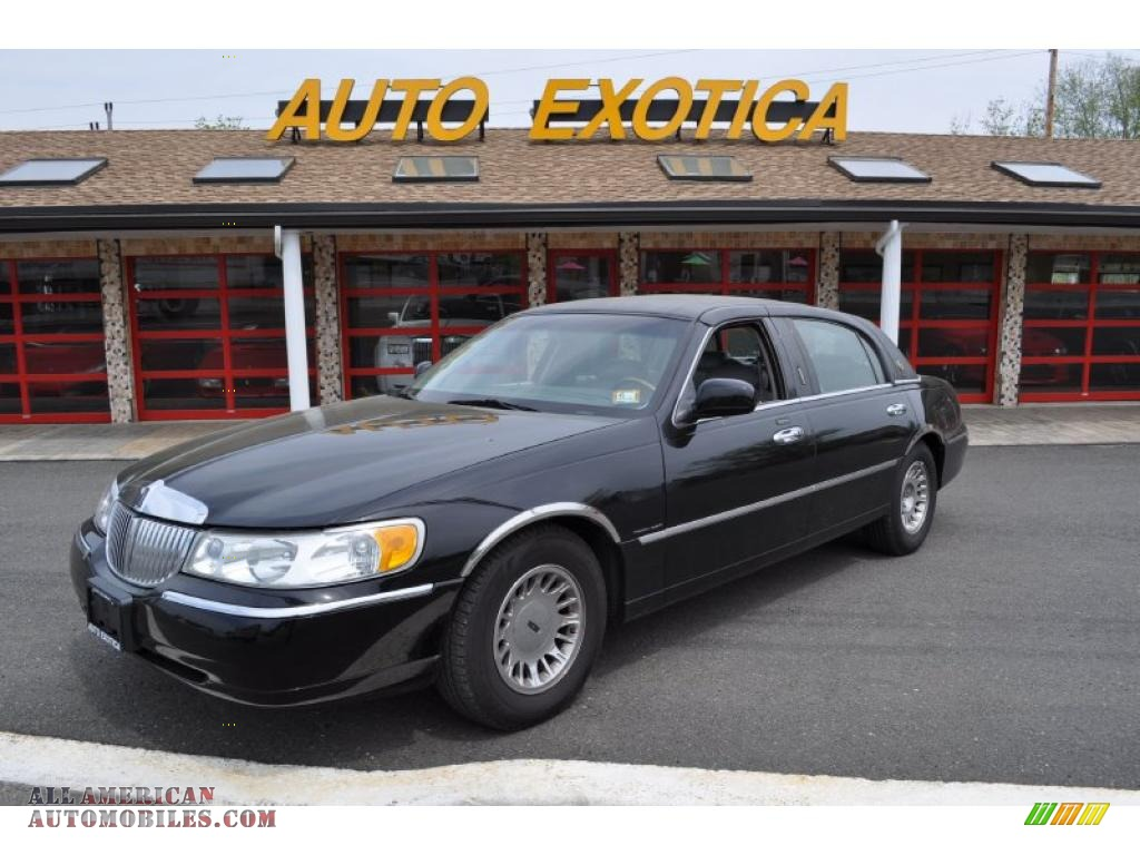 2000 Lincoln Town Car Cartier In Black 874206 All