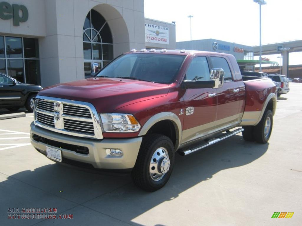 Pine Belt Cadillac >> 2011 Dodge Ram 3500 HD Laramie Longhorn Mega Cab 4x4 Dually in Deep Cherry Red Crystal Pearl ...