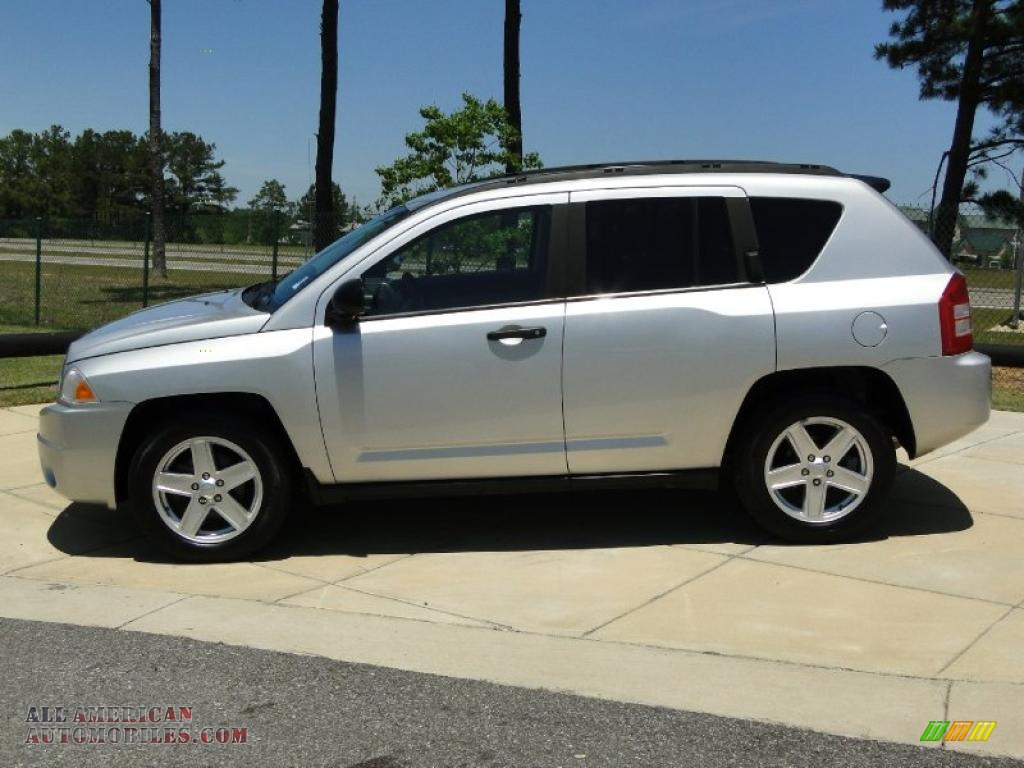 2007 jeep compass sport in bright silver metallic photo 8 424219 all american automobiles. Black Bedroom Furniture Sets. Home Design Ideas