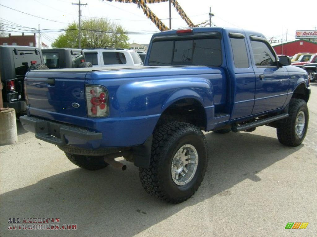 2003 ford ranger edge supercab 4x4 in sonic blue metallic photo 5 a43869 all american. Black Bedroom Furniture Sets. Home Design Ideas
