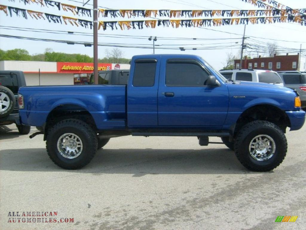 2003 ford ranger edge supercab 4x4 in sonic blue metallic photo 6 a43869 all american. Black Bedroom Furniture Sets. Home Design Ideas