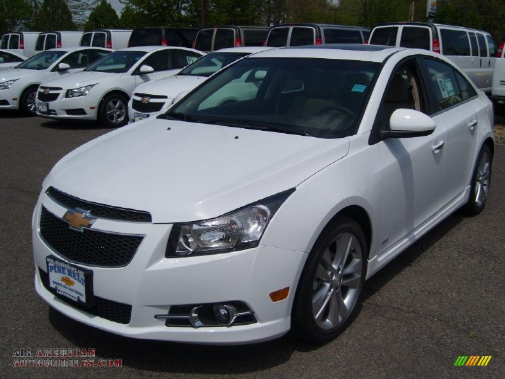2011 Chevrolet Cruze Ltz Rs In Summit White 252554 All