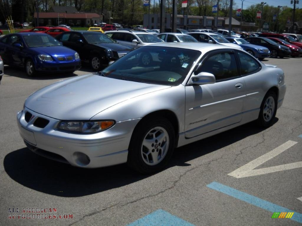 2001 pontiac grand prix gt coupe in galaxy silver metallic photo 7 169140 all american automobiles buy american cars for sale in america all american automobiles