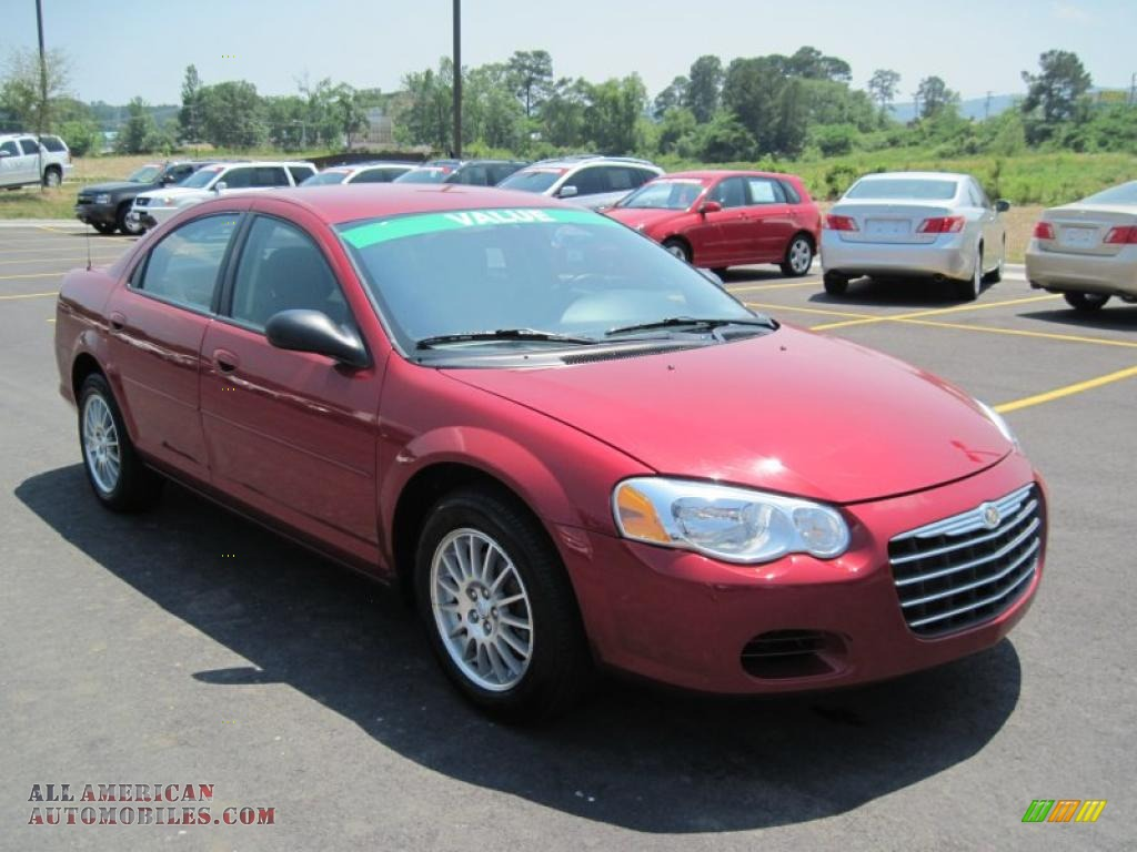 2004 chrysler sebring lx sedan in inferno red pearl photo. Black Bedroom Furniture Sets. Home Design Ideas
