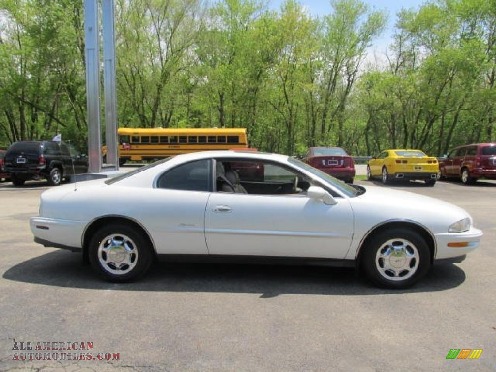 1997 Buick Riviera Supercharged Coupe In White Diamond