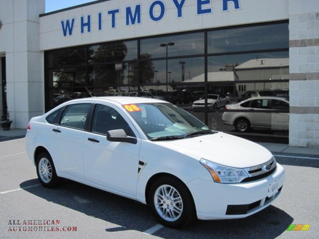 Ford Focus 2008 Sedan White
