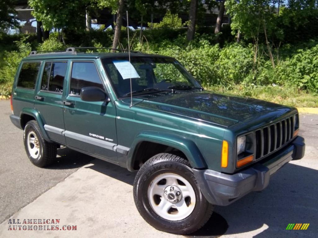 1999 Jeep Cherokee Sport 4x4 In Forest Green Pearl Photo