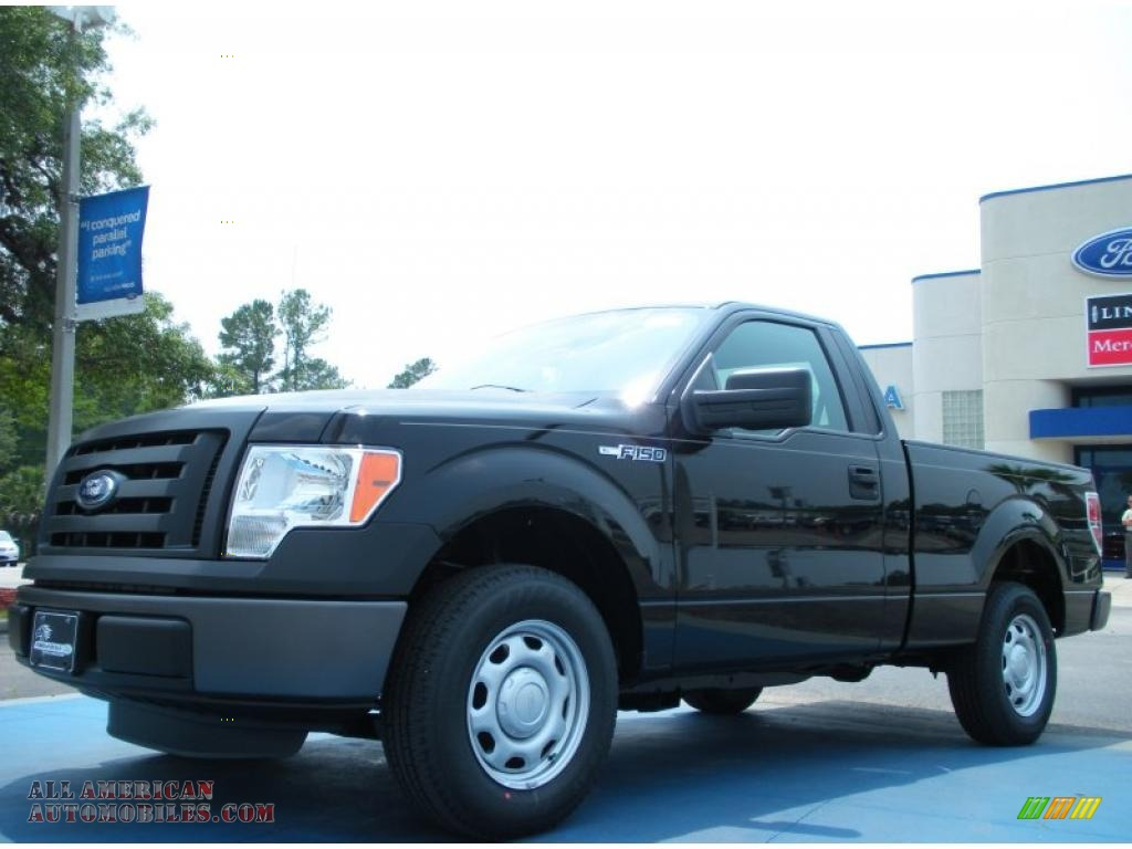 2011 ford f150 xl regular cab in tuxedo black metallic d55623 all american automobiles buy. Black Bedroom Furniture Sets. Home Design Ideas