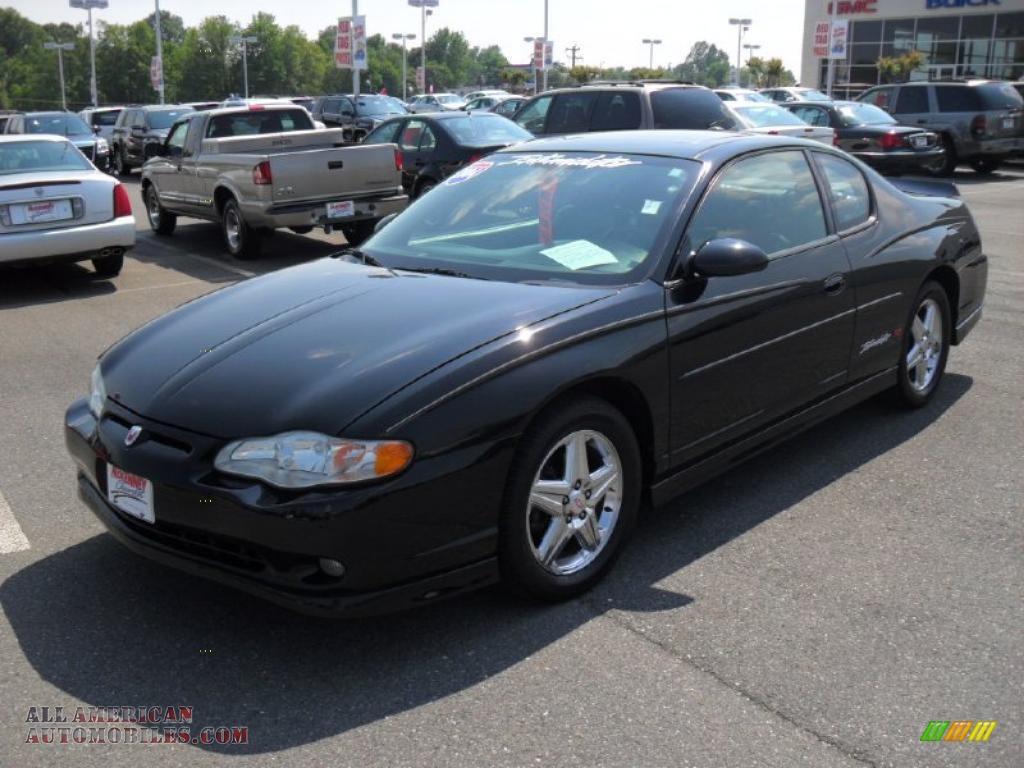 2004 Chevrolet Monte Carlo Intimidator SS in Black ...