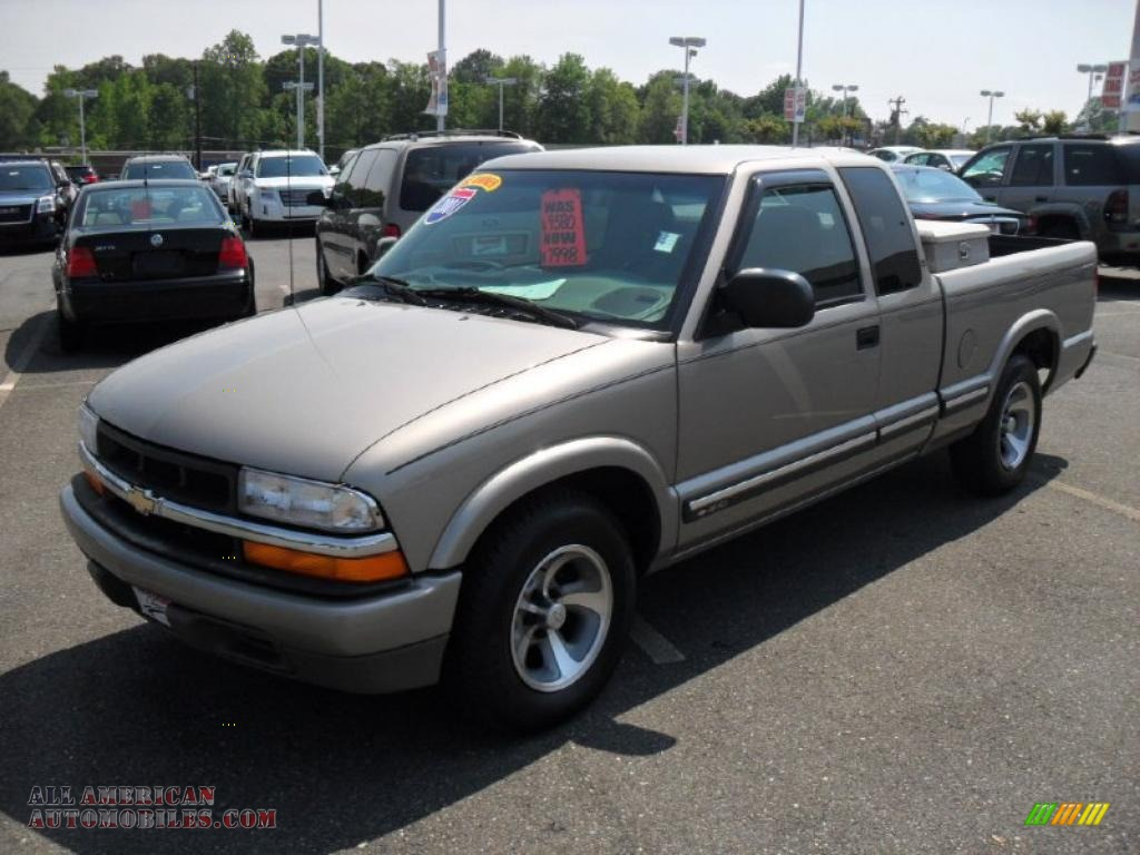 2001 s10 ls extended cab light pewter metallic medium gray photo. Cars Review. Best American Auto & Cars Review