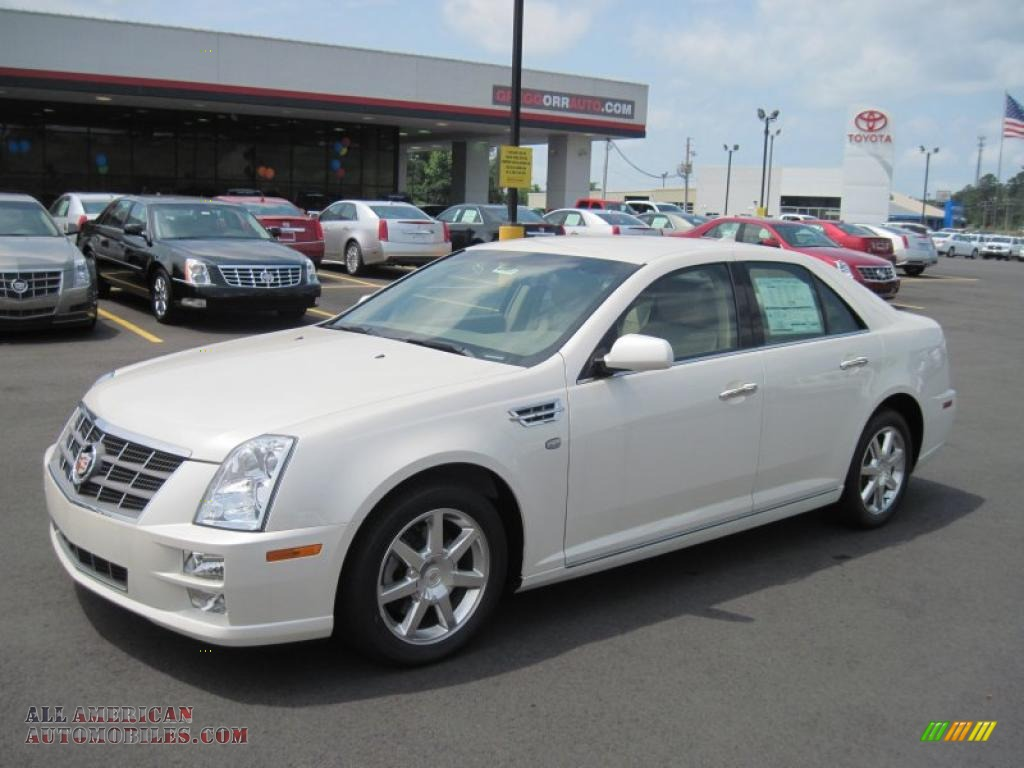2011 Cadillac Sts V6 Sport In White Diamond Tricoat