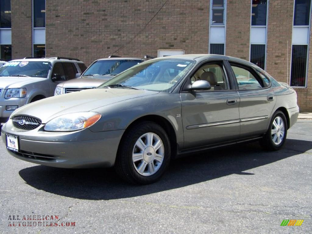 2003 ford taurus sel in spruce green metallic 222884. Black Bedroom Furniture Sets. Home Design Ideas