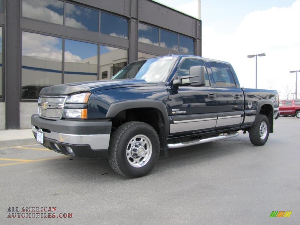 2006 Chevrolet Truck Silverado 2500hd Extended Cab 4wd
