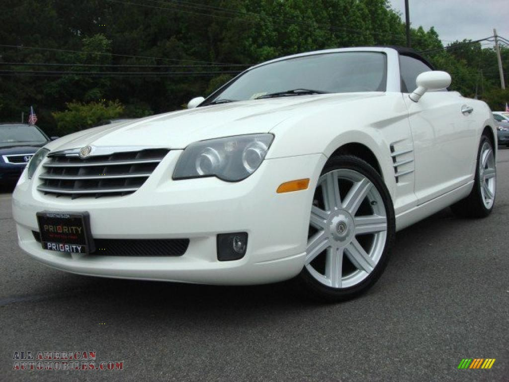 2006 chrysler crossfire limited roadster in alabaster white 068584 all american automobiles. Black Bedroom Furniture Sets. Home Design Ideas