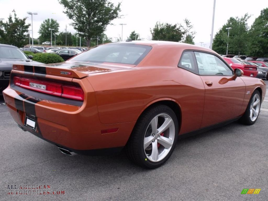 2011 dodge challenger srt8 392 in toxic orange pearl photo 3 540756 all american. Black Bedroom Furniture Sets. Home Design Ideas