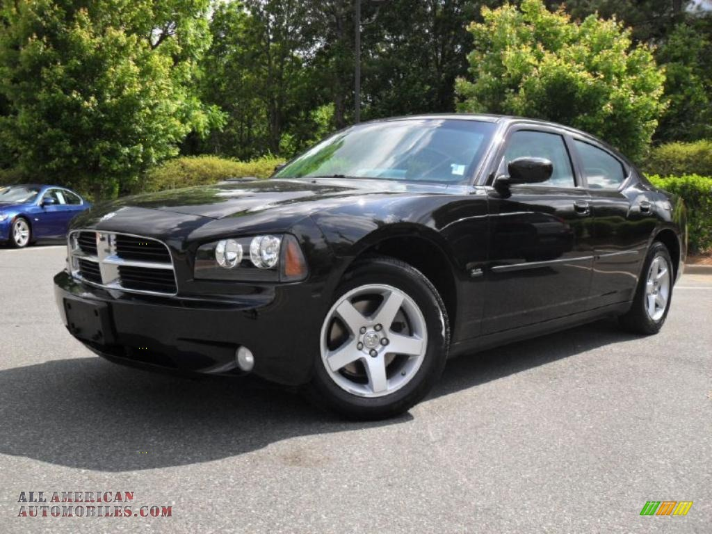 2010 Dodge Charger Sxt In Brilliant Black Crystal Pearl