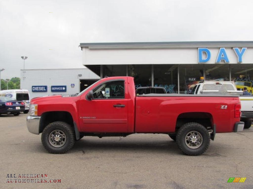 2007 Chevrolet Silverado 2500hd Lt Regular Cab 4x4 In