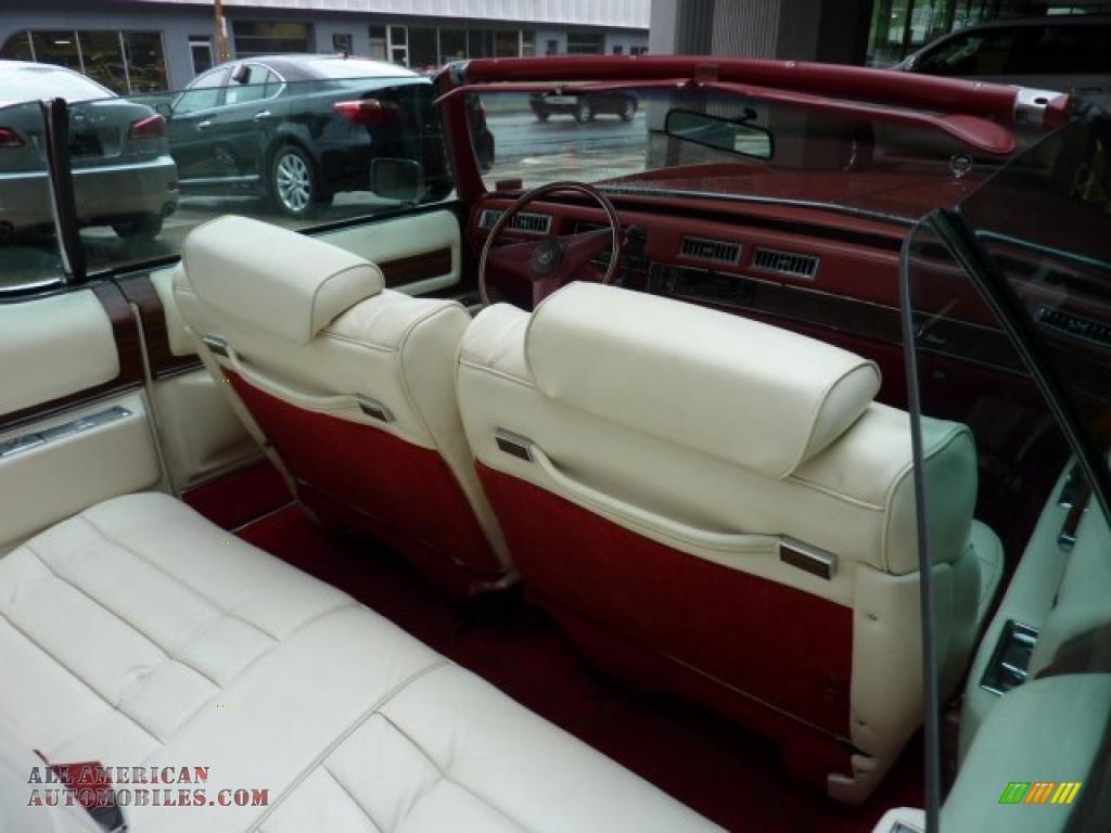 1976 Cadillac Eldorado Convertible In Emberglow Firemist Photo 11 212453 All American