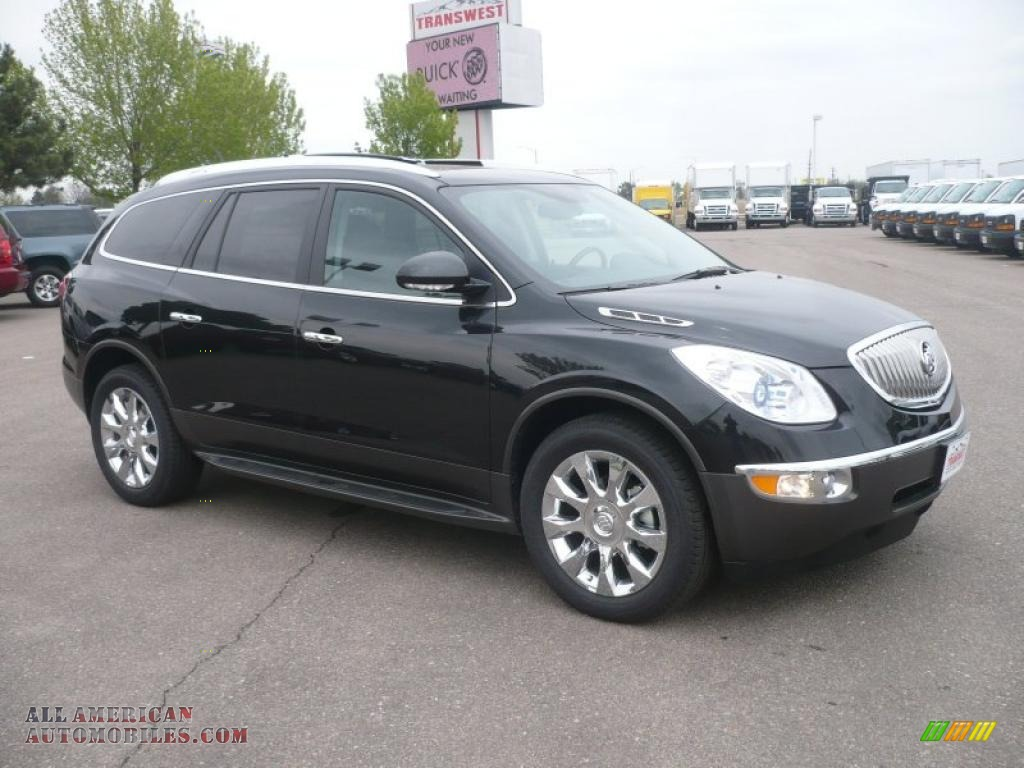 2011 Buick Enclave Cxl Awd In Carbon Black Metallic 296605 All American Automobiles Buy