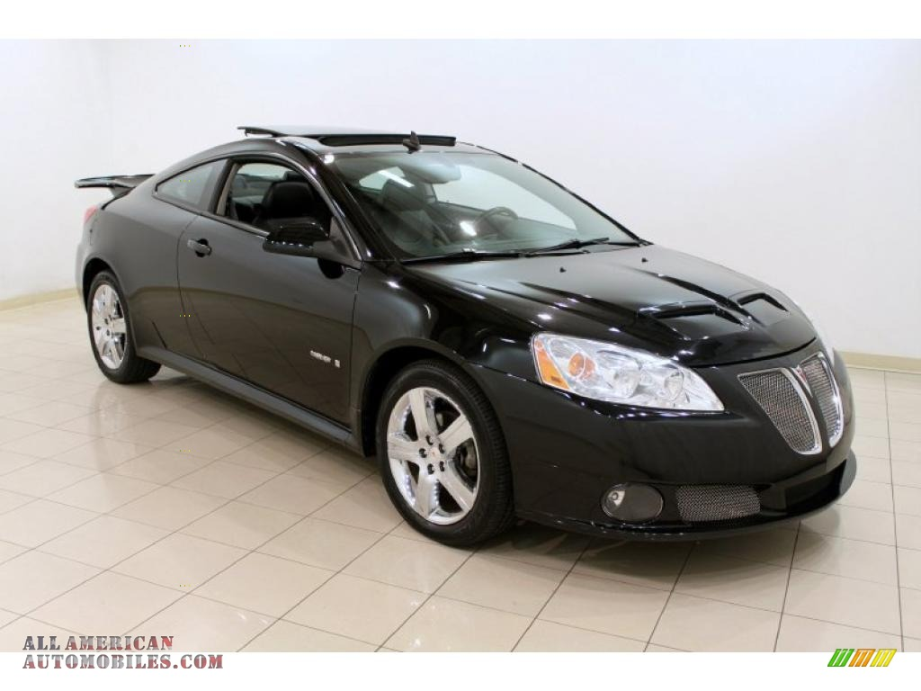2008 Pontiac G6 Gxp Coupe In Black 150075 All American