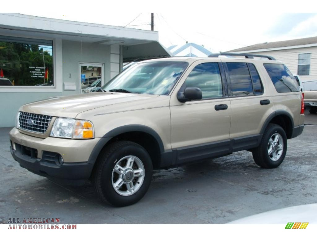 2003 ford explorer xlt in harvest gold metallic a01866 all american autom. Cars Review. Best American Auto & Cars Review
