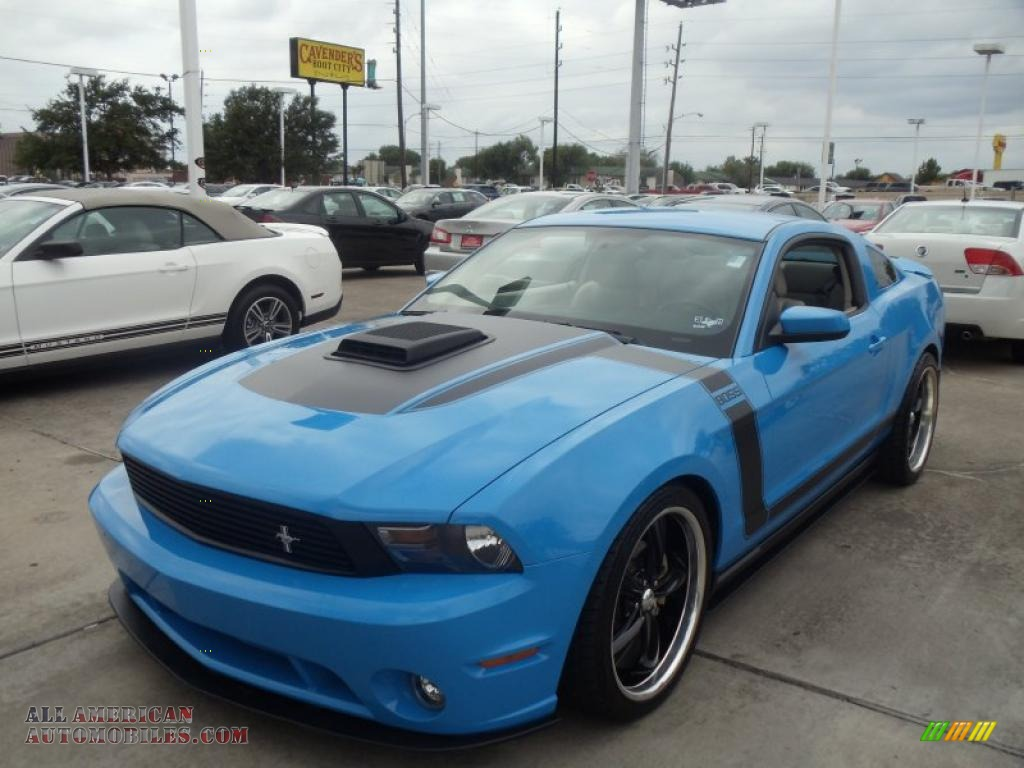 2010 Ford Mustang Gt Coupe In Grabber Blue 101260 All American Automobiles Buy American